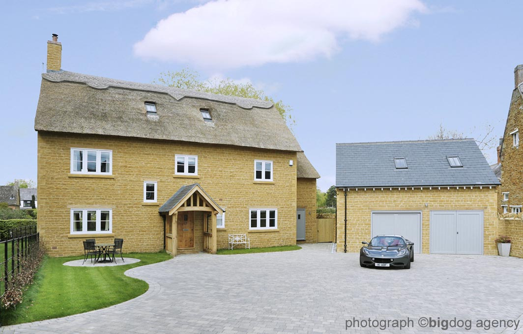 residential house development, medbourne, leicestershire